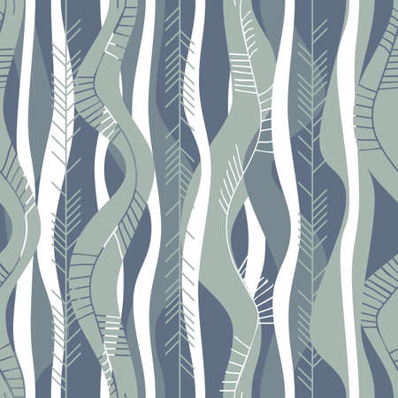 retro stripes gray blue Vector