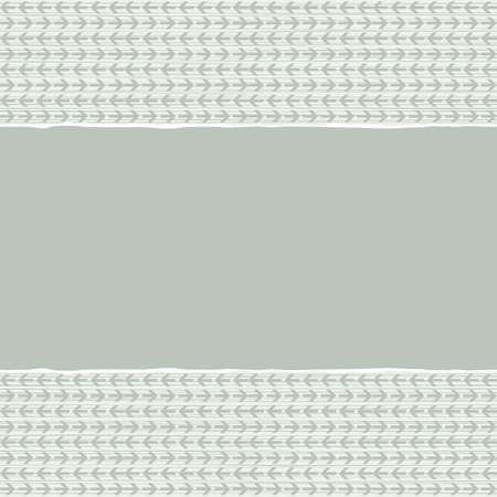 repeatable texture: azul beige marr�n patr�n geom�trico con peque�as flechas en colores de invierno con papel rasgado en el fondo del libro de recuerdos horizontal Vectores
