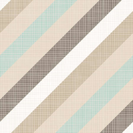 delicate blue brown beige white stripes regular geometric elements on beige background seamless pattern