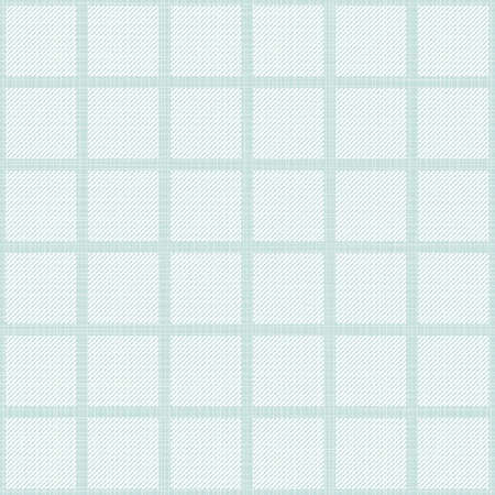 delicate light striped squares regular geometric elements in rows on blue background seamless pattern  Illustration