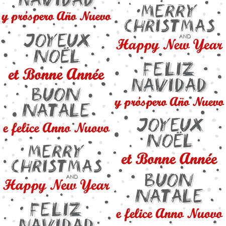 merry christmas and happy new year in english spanish french and italian colorful multilingual wishes winter
