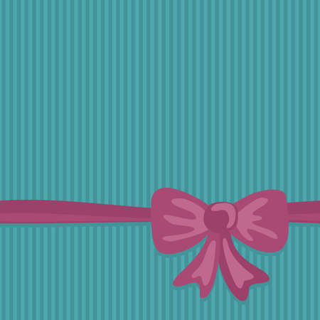 pink bow: pink bow on turquoise background gift wrap paper