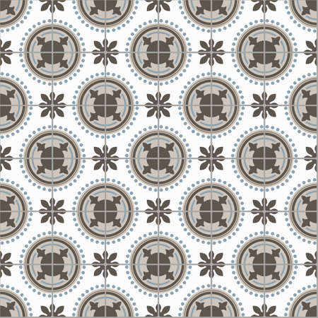 white tile: beige blue gray geometrical staircase seamless pattern on a white tile styles