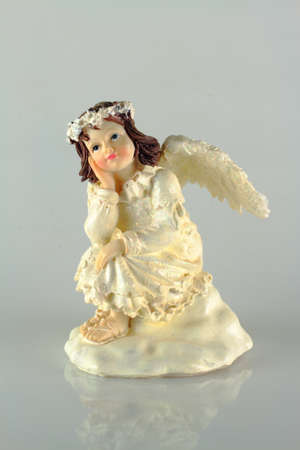Photo of a figurine of an angel