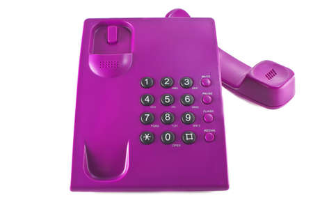 Photo of pink phone only for blondes Stock Photo - 11877758