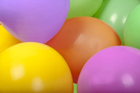 Photo of color balloons photo