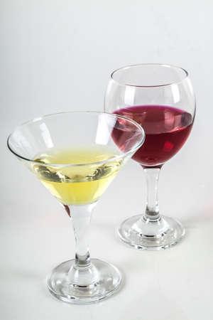 Foto de vasos de vinos Foto de archivo - 23198714