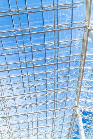 Photo of a glass ceiling in shopping center Reklamní fotografie
