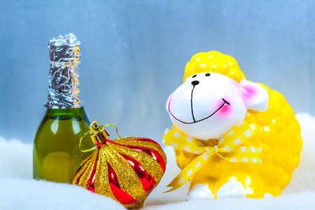 Sheep photo - a symbol of new year