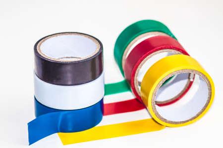 Multi-colored insulating tape