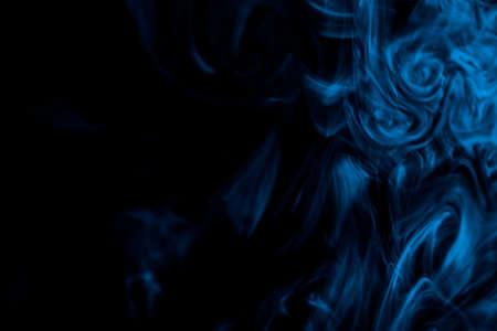 Smoke photo on a black background
