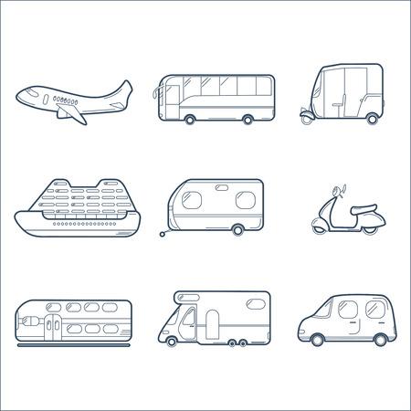 treno espresso: Raccolta trasporto con aereo, autobus, scooter, da crociera, Rimorchio, Tuk-tuk, il treno espresso, roulotte e auto