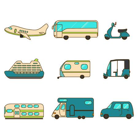 treno espresso: Raccolta trasporto con aereo, autobus, scooter, da crociera, Rimorchio, Tuk-tuk, treno espresso, roulotte e auto.