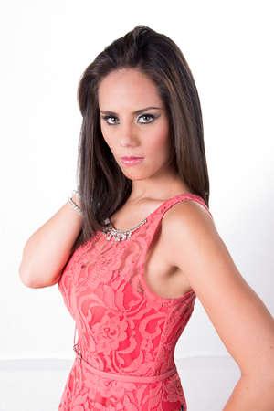 Fashion prety girl Banco de Imagens