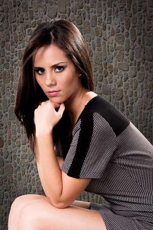 prety: Fashion prety girl Stock Photo