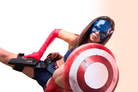 Captain America Sexy Girl
