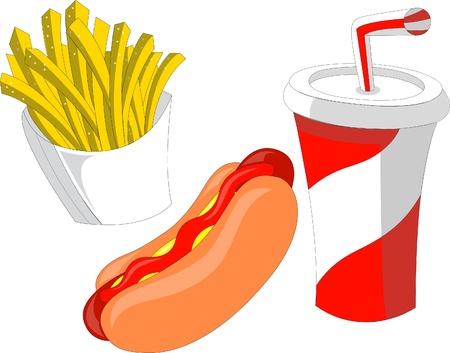 hot dog: Fast Food
