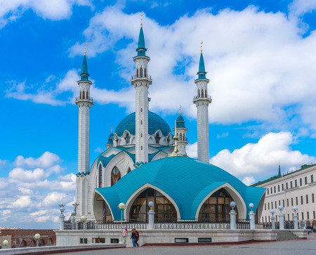 The Kul Sharif mosque in Kazan Kremlin