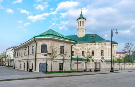 Apanaevskaya Mosque, Kazan Stock Photo