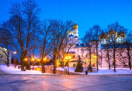 night before christmas: In the Moscow Kremlin night before Christmas