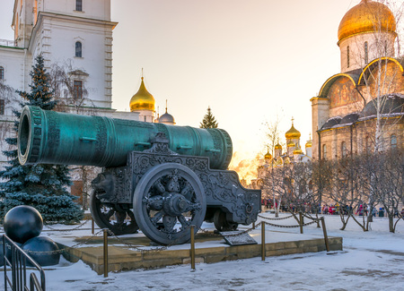 tsar: Tsar Cannon in the Moscow Kremlin