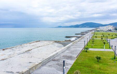 Embankment in Sochi
