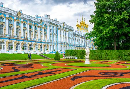 pushkin: RUSSIA, Tsarskoe Selo - JULY, 20, 2013.