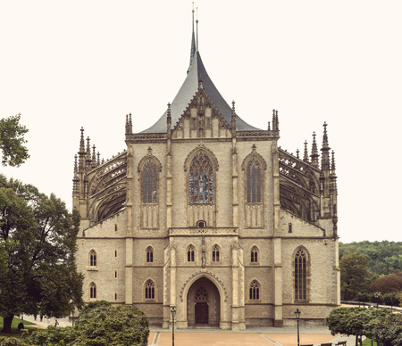 St. Barbaras Cathedral in Kutna Hora, in the Czech Republic Reklamní fotografie