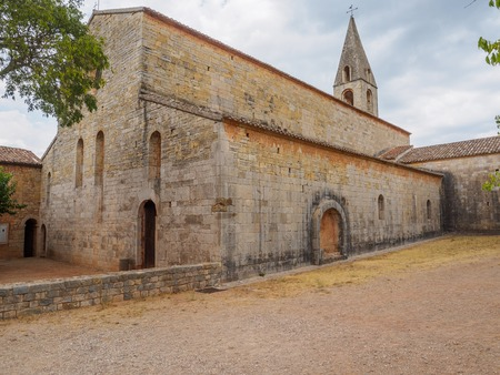 Pictures of the Le Thoronet abbey in France.