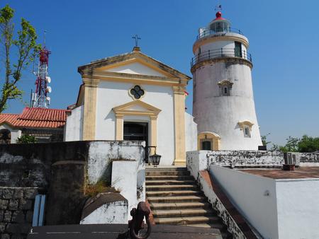Macau lighthouse.