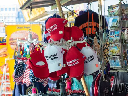 MAGA hats for sale.