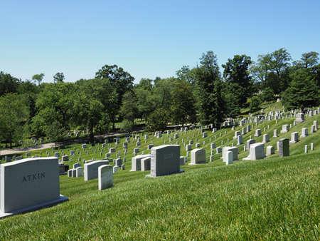 Arlington National Cemetery. Editorial