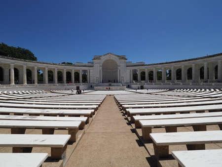 Memorial Amphitheater.