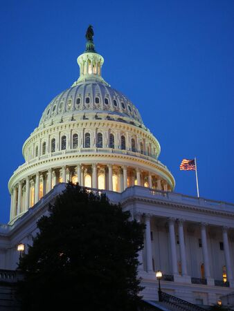 Capitol Building Washington DC.