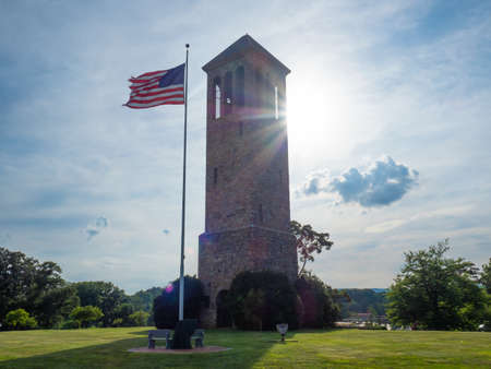 Luray Singing Tower. Stock fotó