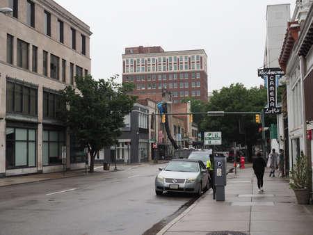 Downtown Richmond, Virginia. Redakční