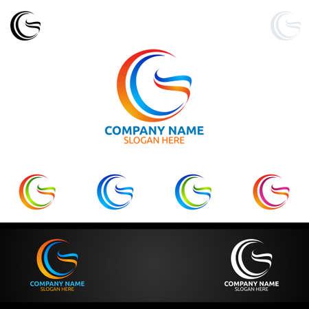 Letter G for Digital Vector Logo, Marketing, Financial, Advisor or Invest Design Icon
