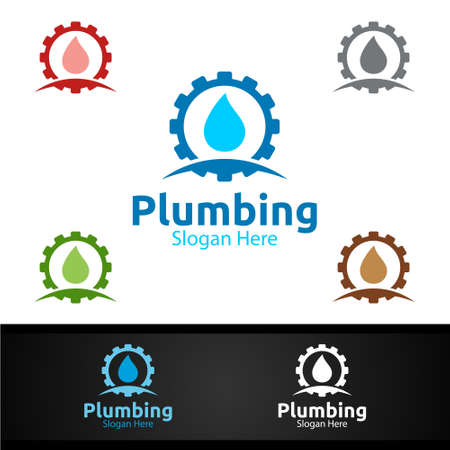 Plumbing with Water and Fix Home Concept Design