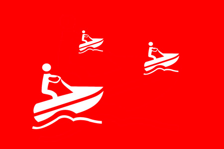 illustraion: illustraion from an boat and wave
