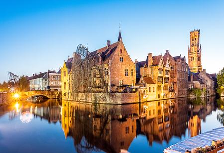 Bruges Standard-Bild