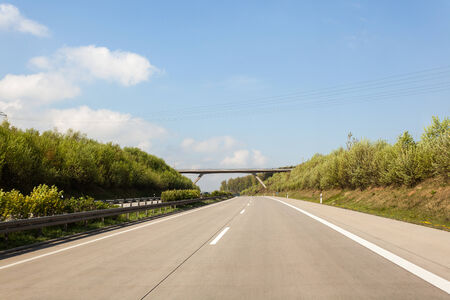 brige: on the highway there is a bridge which runs the longest left off