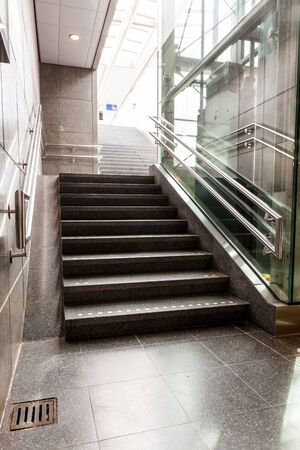 peron: In the train station you find stairs for go to the peron