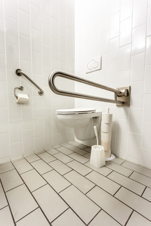 in an public toilet is there an disabled toilet