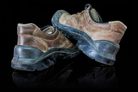 zapatos de seguridad: Estos zapatos de seguridad también están trabajando los zapatos