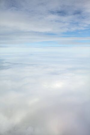 cloudscapes: from an airplaine you can see some beautiful cloudscapes