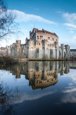 middle ages: in Ghent there is an gavensteen from the Middle Ages