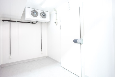 Pull Handle Of Of Refrigerator Door Stock Photo, Picture And ...