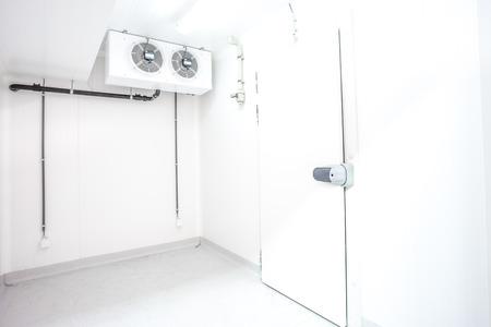 pull handle of of refrigerator door