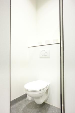 public building: an public toilet in an public building