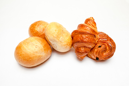 an Hard roll call it in Dutch Pistolee and croissant